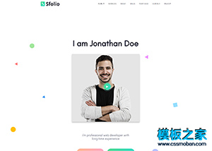 web design��∮人求�展示WordPress模板