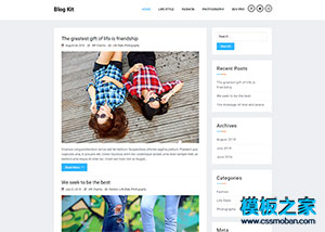 WORDPRESS �★����人日�IBLOG模板